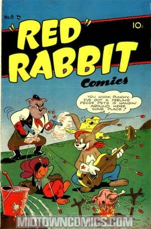 Red Rabbit Comics #8