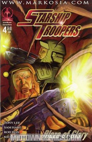 Starship Troopers Blaze Of Glory #4 Cvr A Hart