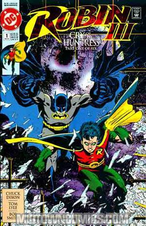 Robin Vol 3 #1 Cover C Cry Of The Huntress Newsstand Edition