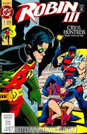Robin Vol 3 #5 Cover C Cry Of The Huntress Newsstand Edition