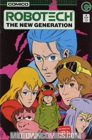 Robotech The New Generation #4