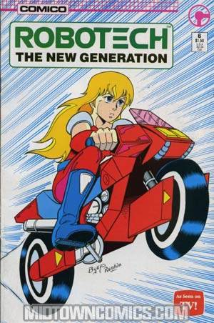 Robotech The New Generation #6