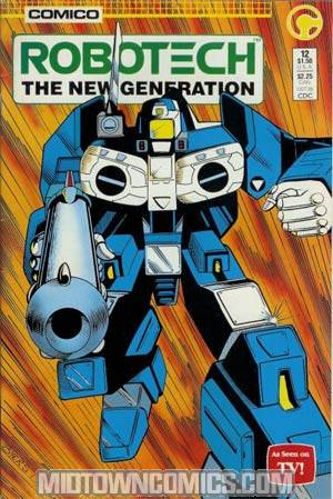 Robotech The New Generation #12