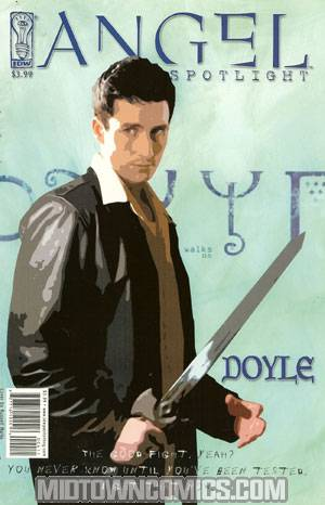 Angel Spotlight Doyle One Shot Cover D Regular Walks Cover