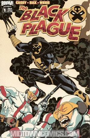Black Plague One Shot Reg Cvr