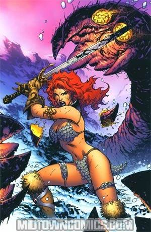 Red Sonja Vol 4 #12 Cover H Incentive Jim Lee Virgin Edition