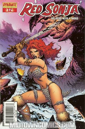 Red Sonja Vol 4 #12 Cover A Jim Lee