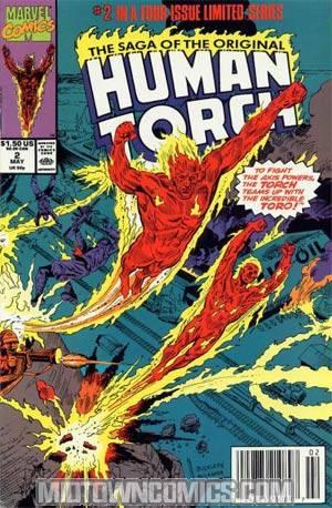 Saga Of The Original Human Torch #2