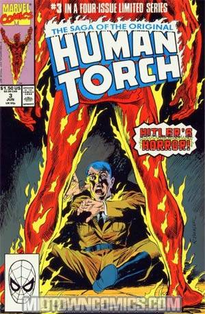 Saga Of The Original Human Torch #3