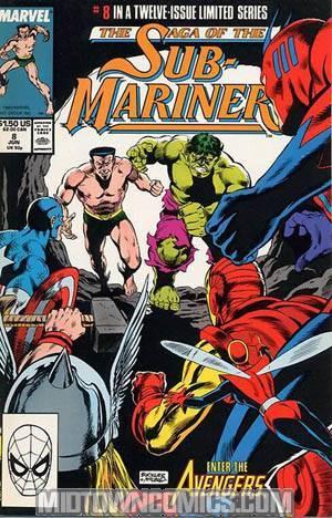 Saga Of The Sub-Mariner #8