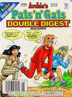 Archies Pals N Gals Double Digest #105