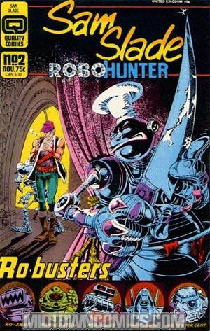 Sam Slade Robohunter #2
