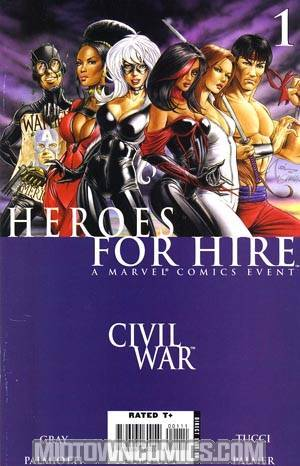Heroes For Hire Vol 2 #1 Cover A 1st Ptg (Civil War Tie-In)