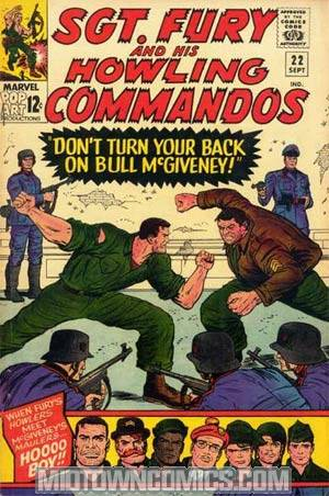 Sgt. Fury & His Howling Commandos #22