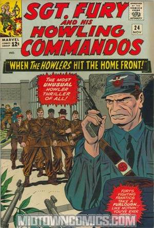 Sgt. Fury & His Howling Commandos #24