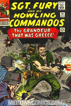 Sgt. Fury & His Howling Commandos #33