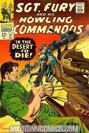 Sgt. Fury & His Howling Commandos #37