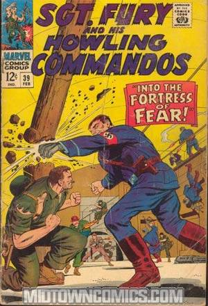 Sgt. Fury & His Howling Commandos #39