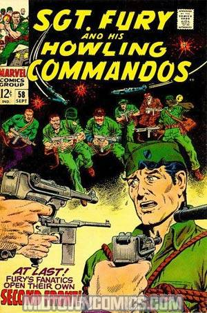 Sgt. Fury & His Howling Commandos #58