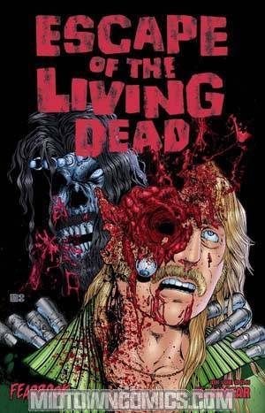 Escape Of The Living Dead Fearbook #1 Gore Cvr