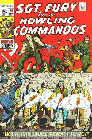 Sgt. Fury & His Howling Commandos #91