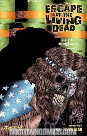 Escape Of The Living Dead Fearbook #1 Wraparound Cvr