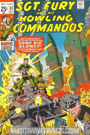Sgt. Fury & His Howling Commandos #92