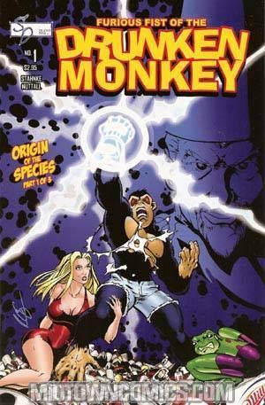 Furious Fist Of The Drunken Monkey Origin Of The Species #1