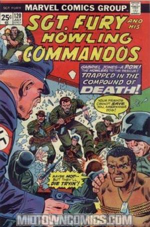 Sgt. Fury & His Howling Commandos #120
