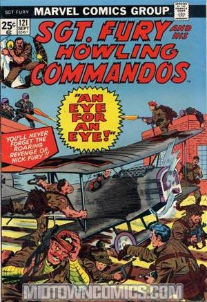 Sgt. Fury & His Howling Commandos #121