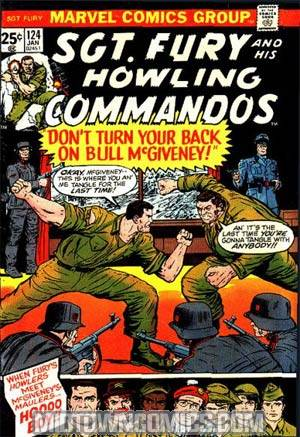 Sgt. Fury & His Howling Commandos #124
