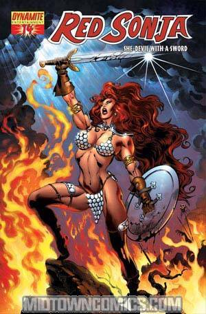 Red Sonja Vol 4 #14 Cover C Claudio Castellini