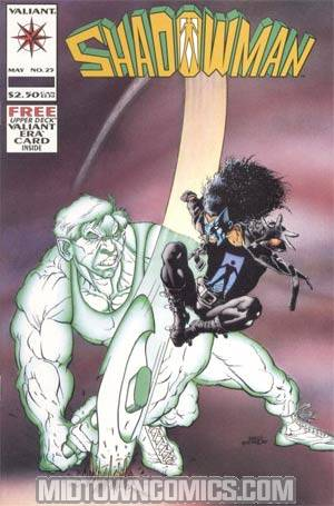 Shadowman #25 Cover A With Card