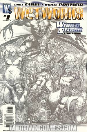 Wetworks Vol 2 #1 Cover C Incentive Whilce Portacio Sketch Variant Cover