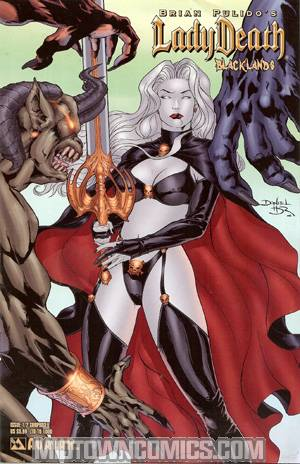 Brian Pulidos Lady Death Blacklands #1/2 Surprised Cvr