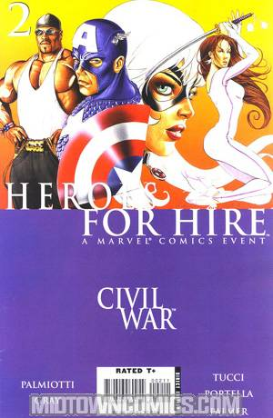 Heroes For Hire Vol 2 #2 (Civil War Tie-In)