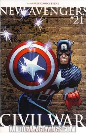 New Avengers #21 Cover B 2nd Ptg Chaykin Variant Cover (Civil War Tie-In)