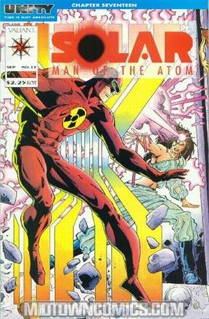 Solar Man Of The Atom #13