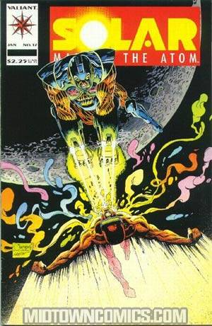 Solar Man Of The Atom #17