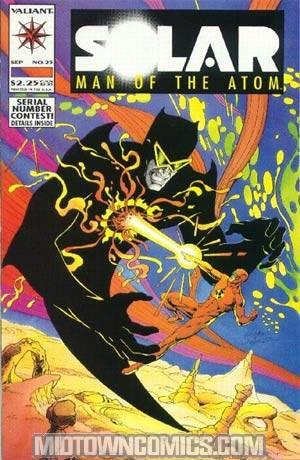 Solar Man Of The Atom #25