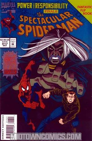 Spectacular Spider-Man #217 Cover A Deluxe Edition
