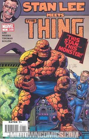Stan Lee Meets Thing
