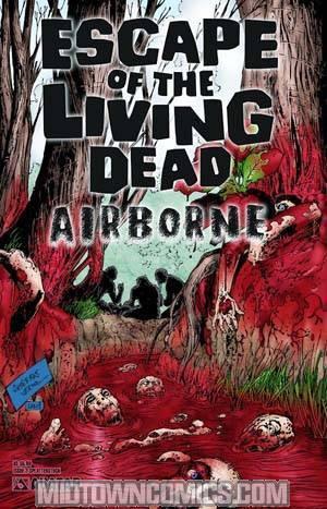 Escape Of The Living Dead Airborne #2 Splatter Cvr