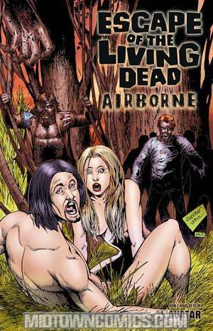 Escape Of The Living Dead Airborne #2 Wraparound Cvr