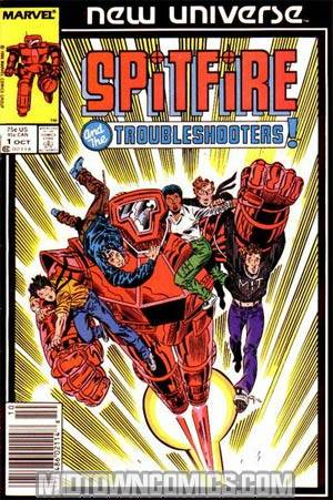 Spitfire And The Troubleshooters #1