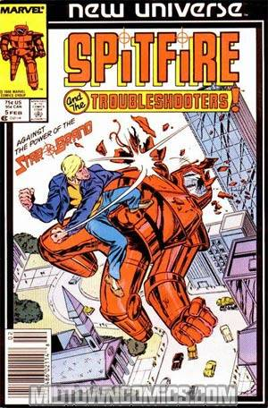 Spitfire And The Troubleshooters #5