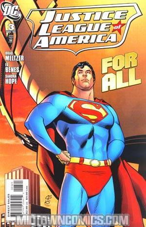 Justice League Of America Vol 2 #3 Incentive Chris Sprouse Variant Cover