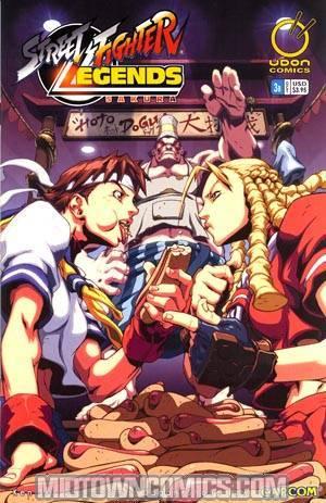 Street Fighter Legends Sakura #3 Cvr B Lee