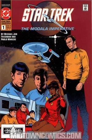 Star Trek The Modala Imperative #1