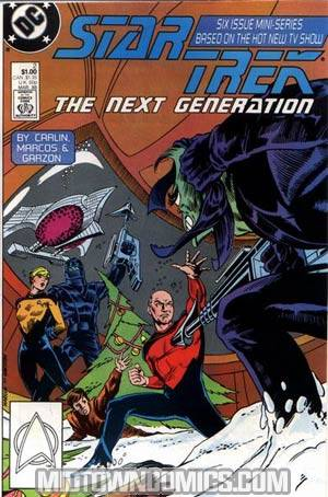 Star Trek The Next Generation Vol 1 #2